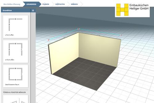 3D-Küchenplaner Online